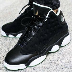 adfb7f9c0cb35f Jordan Shoes - NIKE AIR JORDAN RETRO 13 black Mint Shoes New